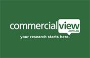 SmartView Media Commercialview Logo
